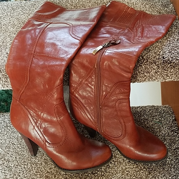 Guess Shoes - Genuine Leather Guess Boots
